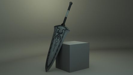 Detailed Sword by JWright-3D-Graphics