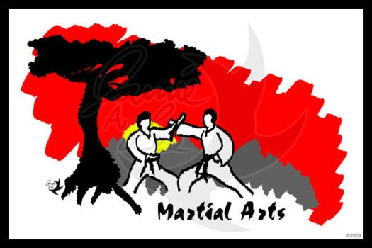 Martial Arts Poster by Jammerlee
