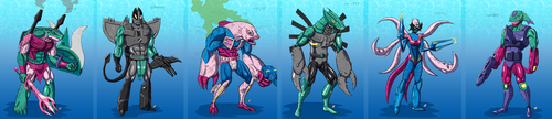 Seacons of the Universe by Transypoo