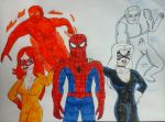 The Amazing Spider-Friends by JQroxks21