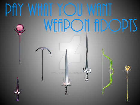 Weapon Adopts [SOLD] by IsellaHowler
