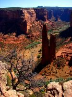 Rocks of the Spider Woman by Geotripper