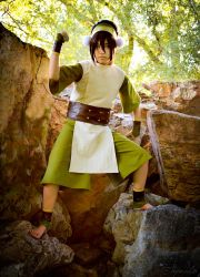 Avatar the Last Airbender - Steady as a Rock by Taymeho