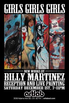 Art Lab - Billy Martinez Poster by Billy68