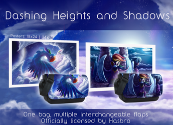 Dashing Heights and Shadows New Bag Flaps by Tsitra360