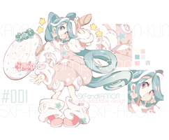 [CLOSED TY!]Setprice_Bubbly Candy_Collab adopt by Skf-Adopt