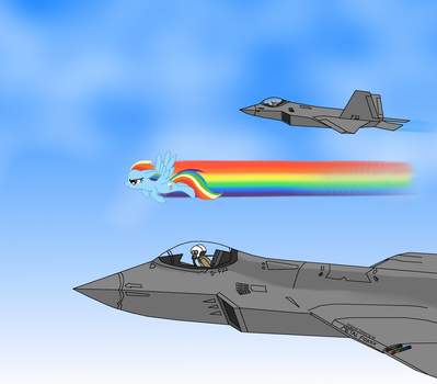 Atmospheric Fighters Colored by MegaFatNerd