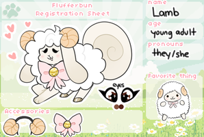 lamb registration by berrykittens