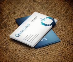 EEAECO.com Business Card Design by vasiligfx