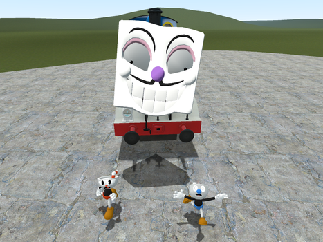 DICE THE TANK ENGINE by Jeremy-the-Blockhead