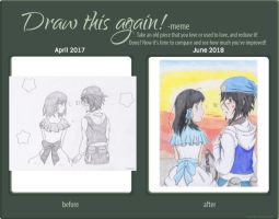 Draw This Again Template By Omenaadopts On Deviantart