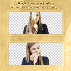 Pack Cara Delevigne PNG by PerfectLights