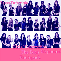 Girls' Generation The Boys Photopack by TeesTutorials