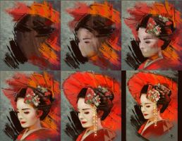 20160121 Geisha Process Psdelux by psdeluxe