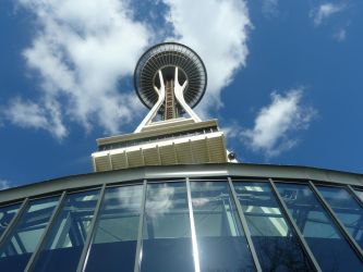 Seattle Space Needle 1 by UnstoppableCOW