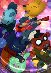 Night in the woods - jam session by mirry92