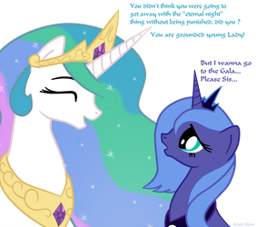Why Luna was not at the Gala by mlpAzureGlow