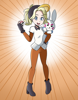 Pokewatch Mercy by Moement