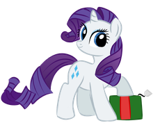 Merry Christmas, Rarity by chameron