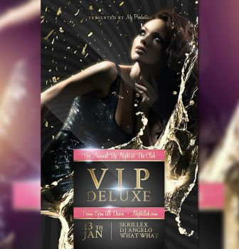 Deluxe - Flyer Template by Tokayoot