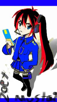 Zoey recon Mustang  normal  an in a uniform  by rebeccaeverdeen