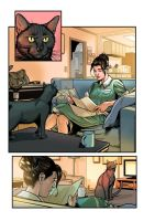 Kitten Comics Page Colors by GiuliaPriori