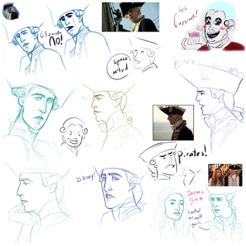 POTC Comedy Sketches And Scribbles by AuldBlue