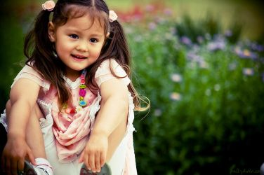 sweet little girl by Frall