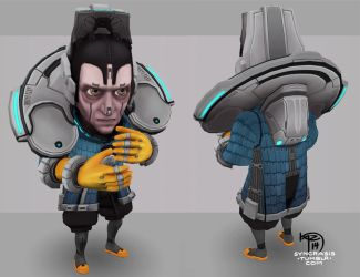 Alad front and back by Syncrasis
