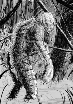 The Creature from the Black Lagoon by T-RexJones