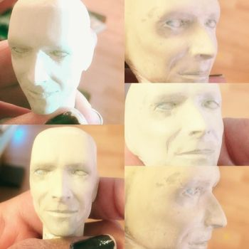 WIP Bowie Labyrinth face by vrlovecats
