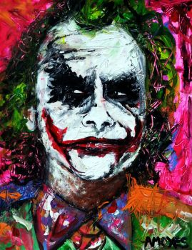 The Joker by amoxes