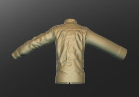 the 3d guy's jacket by abdollah4ever