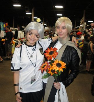 AnimeNEXT 2011- Rus and Prus by sweetasXiXi
