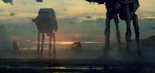 Imperial Walkers by daRoz