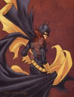 Batgirl - Color by StephenSchaffer