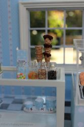 Miniature ice cream parlour 2 by EmisBakery
