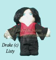Drake plushie for Listy by notoes