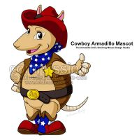 Armadillo Grill Mascot - Final by KrisCynical