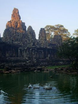 Siem Reap Sunset by shadowed-light-waves