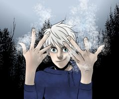 Jack Frost on a cold winter morning by frogsfortea
