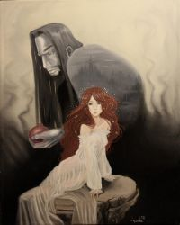 The Child Bride, Persephone by DunpealChild