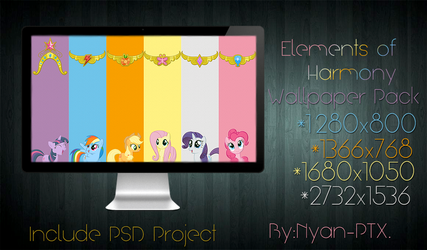 Elements of Harmony-Wallpaper Pack by Nyan-PTX