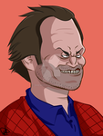 Jack Torrance by Dhemuth