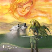Twilight and Link- He Lives In You by Midna-Mcellion