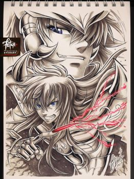 COPIC sketch 74 KARDIA by FranciscoETCHART