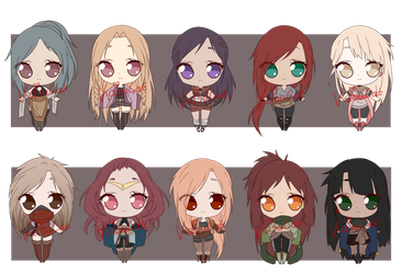 Set Price Adopt Batch 4(CLOSED) by KasuCat-Adopts