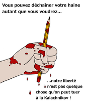 Je suis Charlie by Emillie-Wolf
