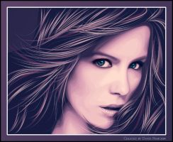 Kate Beckinsale by davidnanchin