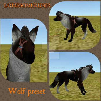 FeralHeart: Finished Wolf Preset by Sargeus-Heart
